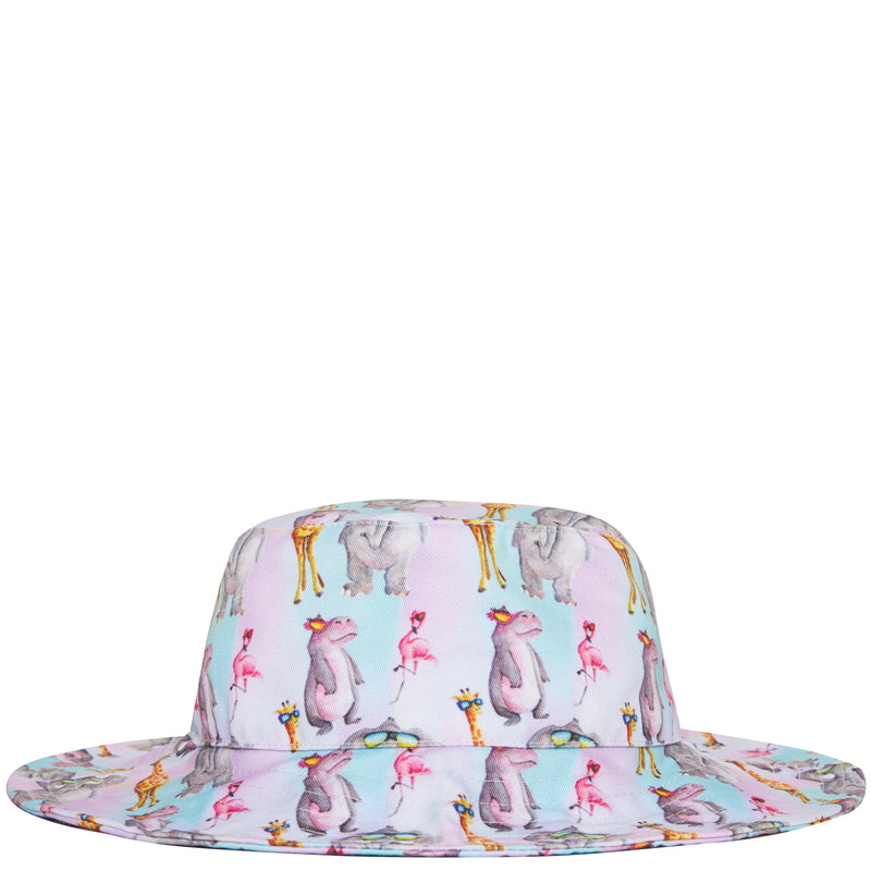 Safari Animals Beach Hat