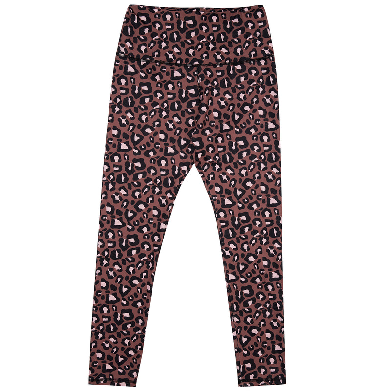 Terracotta Leopard Women's Leggings