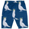 Navy Cockatoo Kids' Bike Shorts