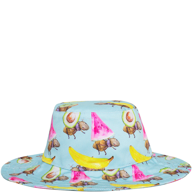 Fruit Ants Beach Hat