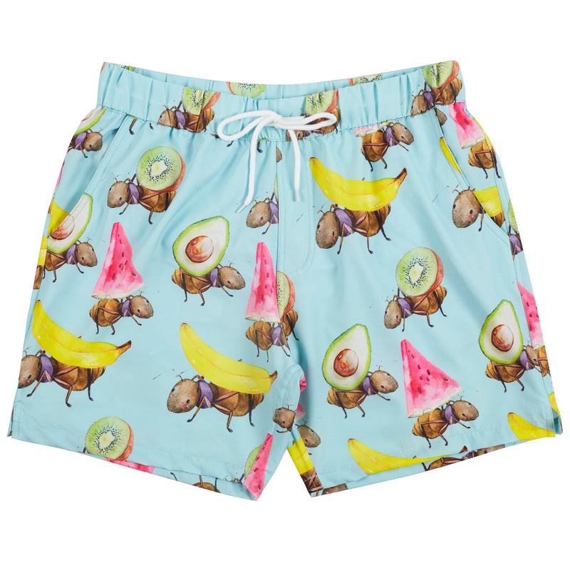 Fruit Ants Men's Boardshorts