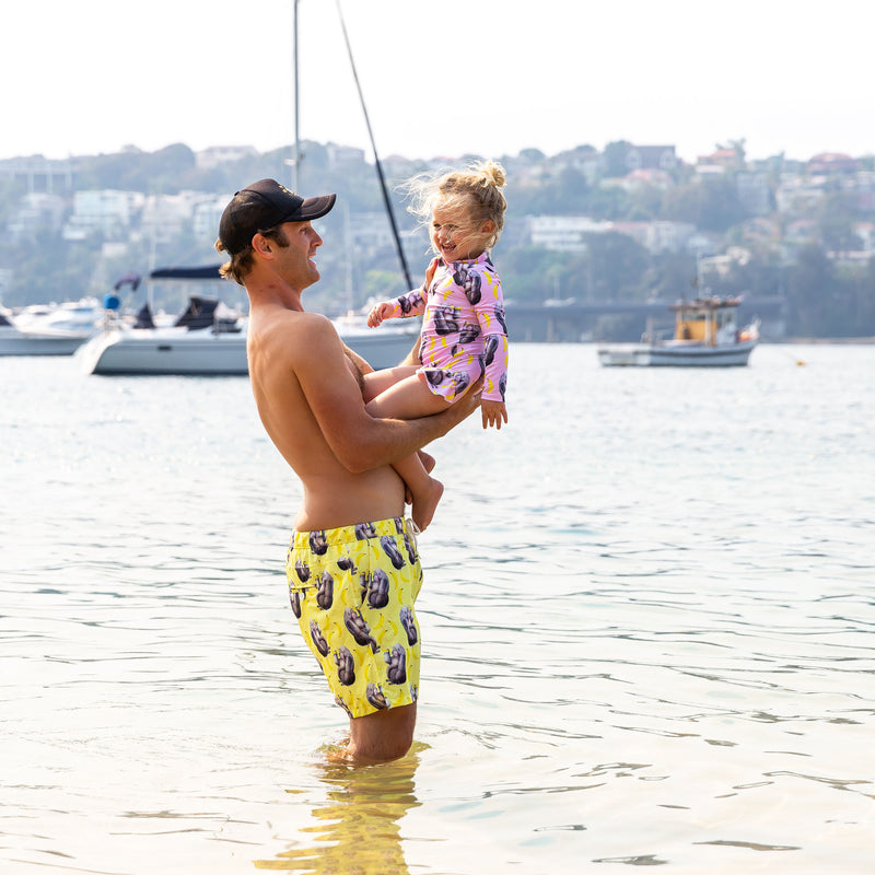 Yellow Gorilla Men's Boardshorts