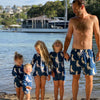 Navy Cockatoo Men's Boardshorts