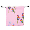 Pink Rainbow Lorikeet Women's Sleeveless One Piece Swimmers