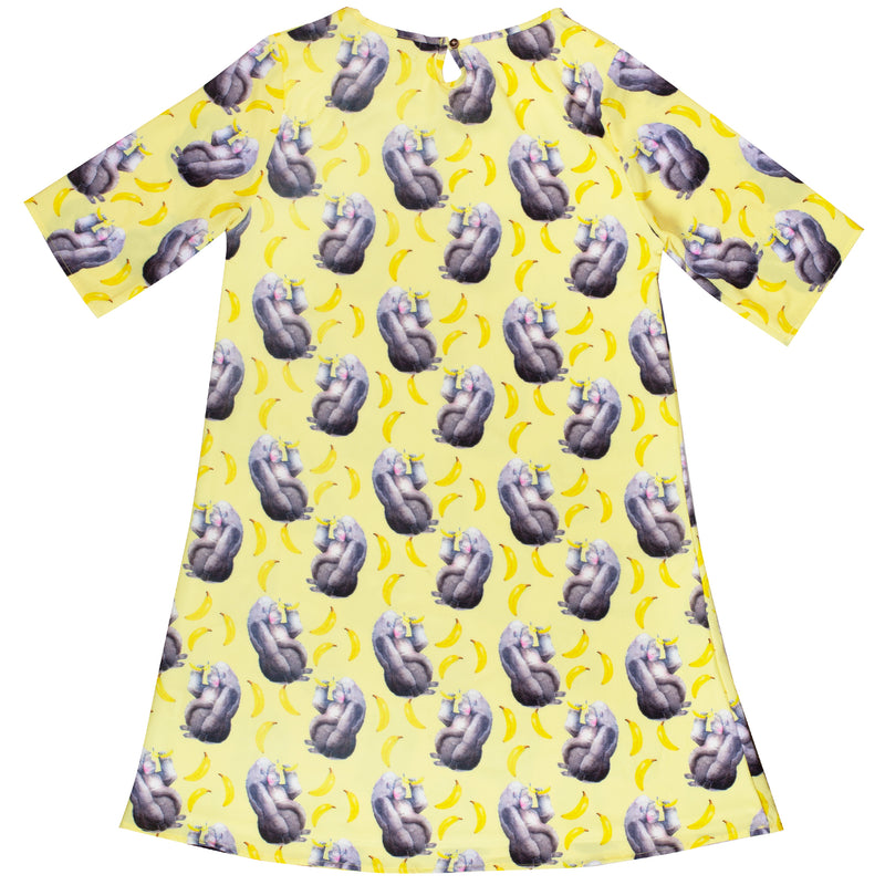 Yellow Gorilla Women's Shift Dress