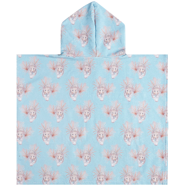Revie Jane x Cheeky Chickadee Hooded Kids' Towel