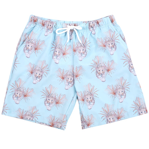 Green Cockatoo Kids' Boardshorts