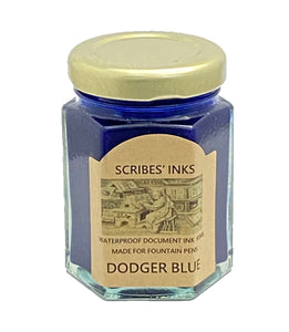 "Scribe's Pens ""Dodger Blue"" fountain pen ink"