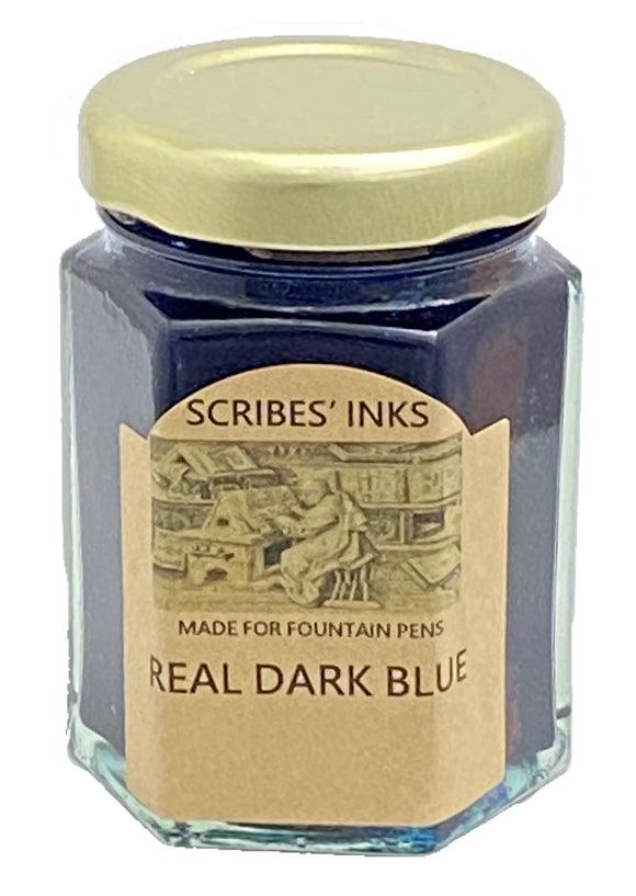 "Scribe's Pens ""Real Dark Blue"" fountain pen ink"
