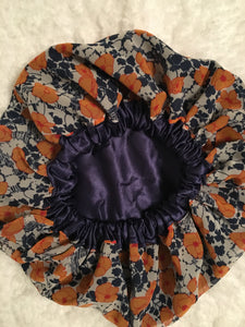 Tangy Oversized Satin Bonnet