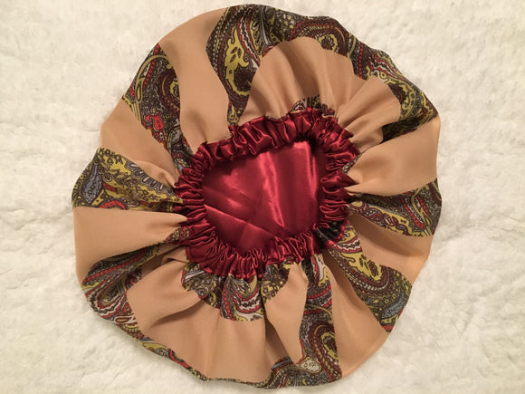 Desiree Regular Sized Satin Summer Bonnet