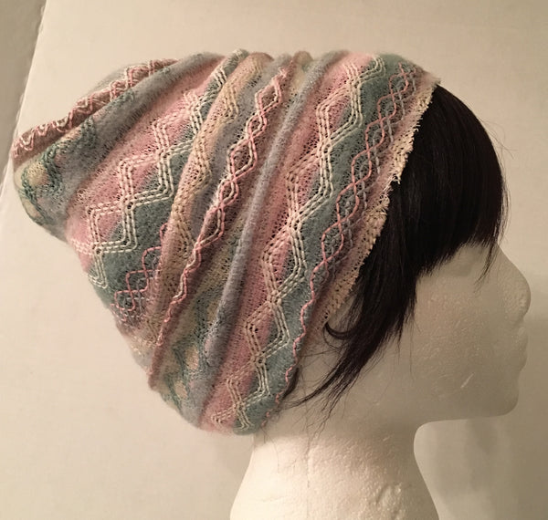 Light Colored Aztec Print Hood