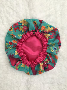 Show Me A Smile Kid's Satin Bonnet
