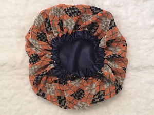 Dreamsicle Regular Sized Satin Summer Bonnet