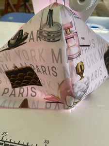 White Paris Face Mask