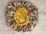 Blooms Regular Sized Satin Bonnet