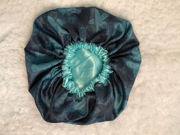 Favianna Oversized Satin Bonnet