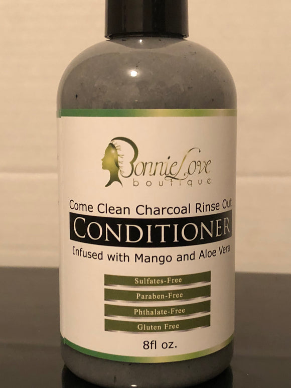 BonnieLove's Come Clean Charcoal Rinse Out Conditioner