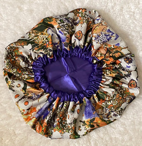 Play Date Oversized Satin Bonnet