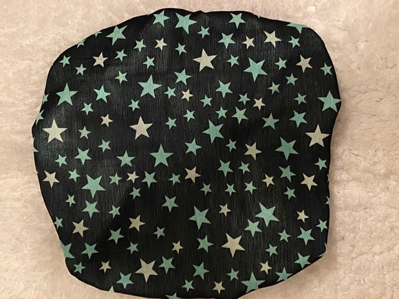 Star Struck Oversized Satin Bonnet