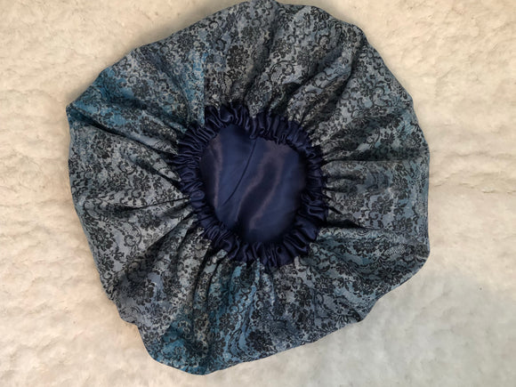 Kristal Oversized Satin Bonnet