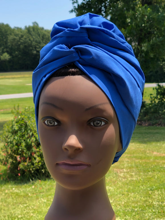 Royal Blue Play Bonnie Wrap