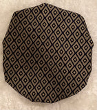 Diamond Cut Regular Sized Satin Bonnet