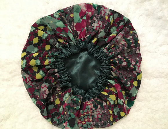Jade Regular Sized Satin Bonnet