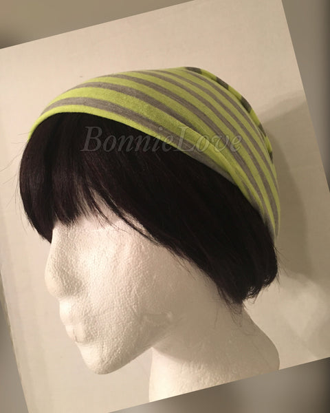 Neon Yellow & Gray Hood