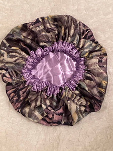 Dream Catcher Oversized Satin Bonnet