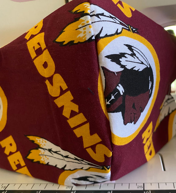 Redskins Face Mask