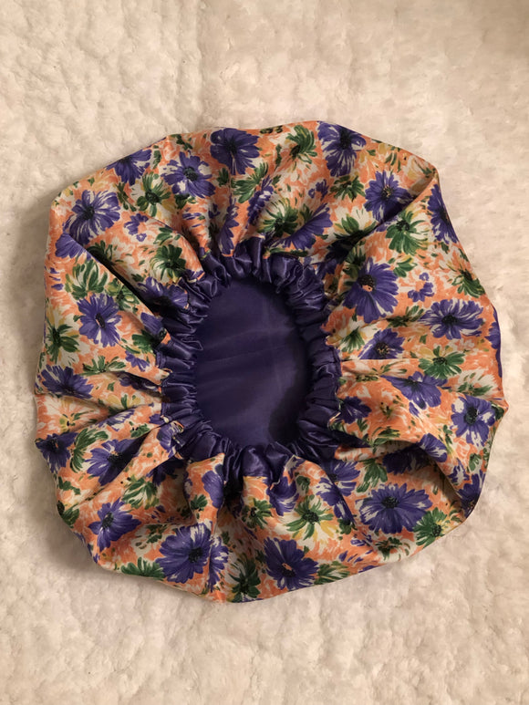 Sadie Oversized Satin Bonnet