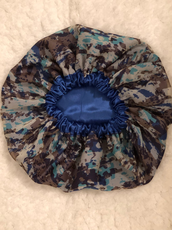 Lyric Oversized Satin Summer Bonnet