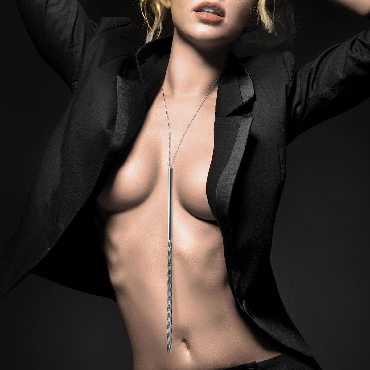 Bijoux Indiscrets Magnifique Collection Chain Necklace Whip Whips & Teasers Bijoux Indiscrets