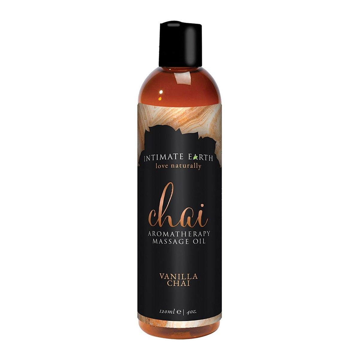 Intimate Earth Massage Oil Chai 1  - Beyond Delights