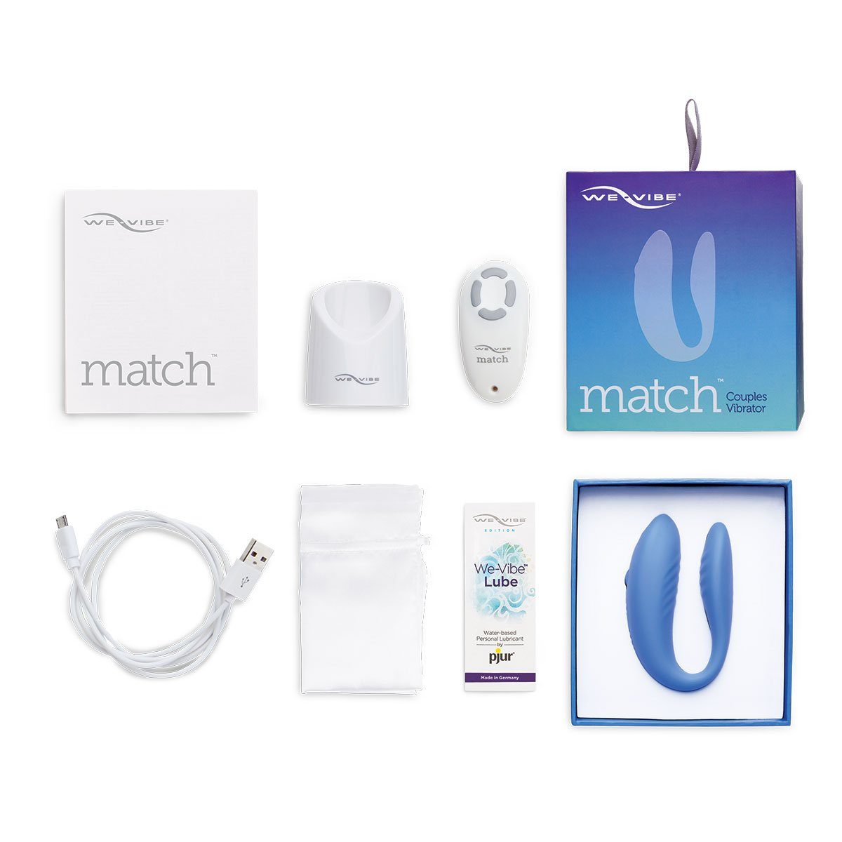 We Vibe Match Couples Vibrator 7  - Beyond Delights