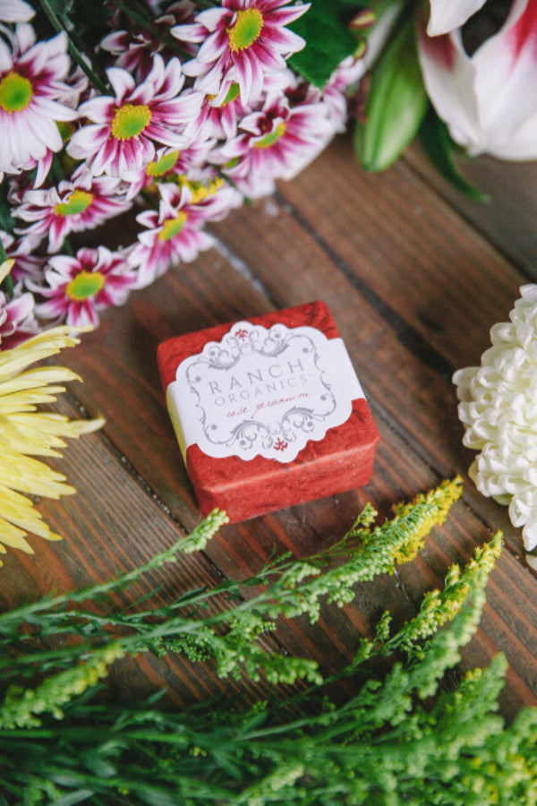 Ranch Organics rose geranium soap