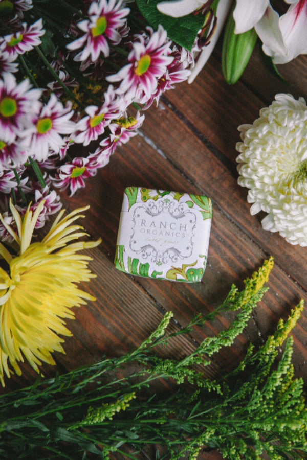 Ranch Organics sweet grass soap
