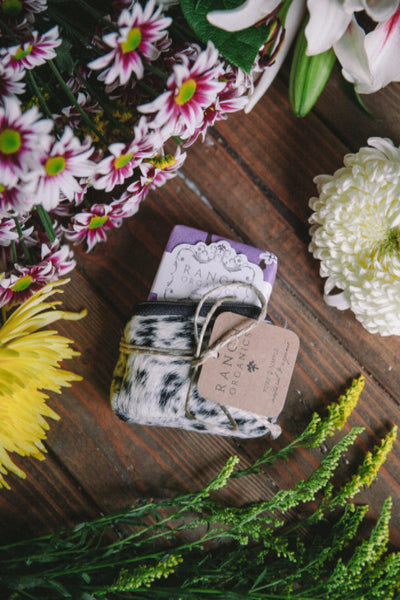 Ranch Organics Lavender cowhide soap