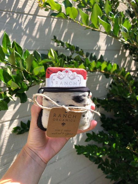 Soap Satchel (Rose Geranium)