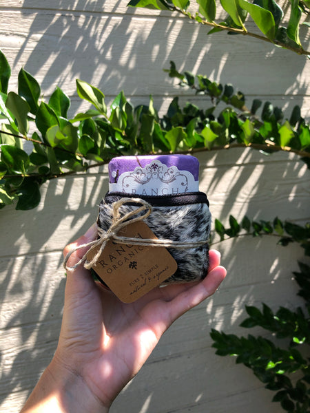 Soap Satchel (Lavender)