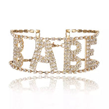 "Load image into Gallery viewer, ""BABE"" Ladies Choker"