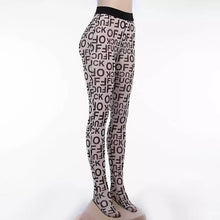 Load image into Gallery viewer, SADE Women's Lettered Graphic Tights