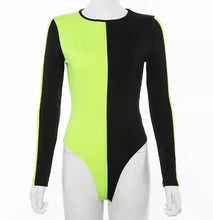 Load image into Gallery viewer, INEZ Women's Colorblock Bodysuit