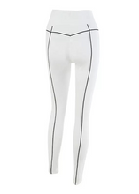 Load image into Gallery viewer, REI Reflective Stripe Fitted Women's Leggings