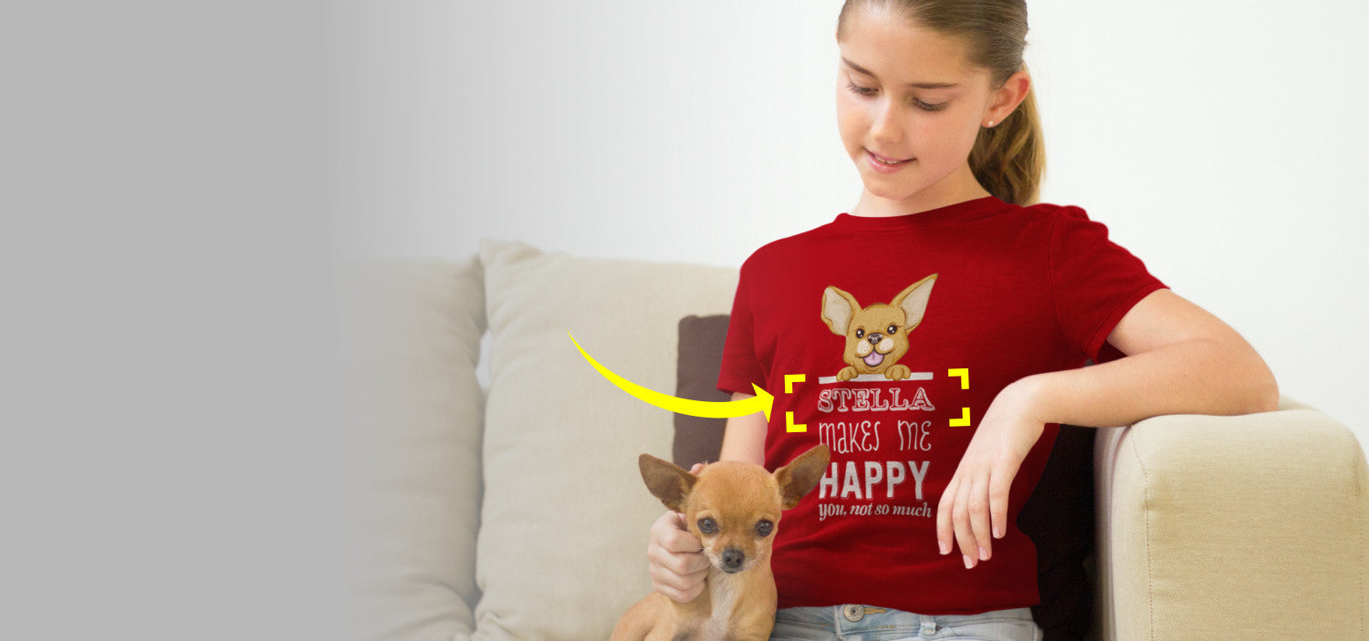 Customized Pet Tshirts