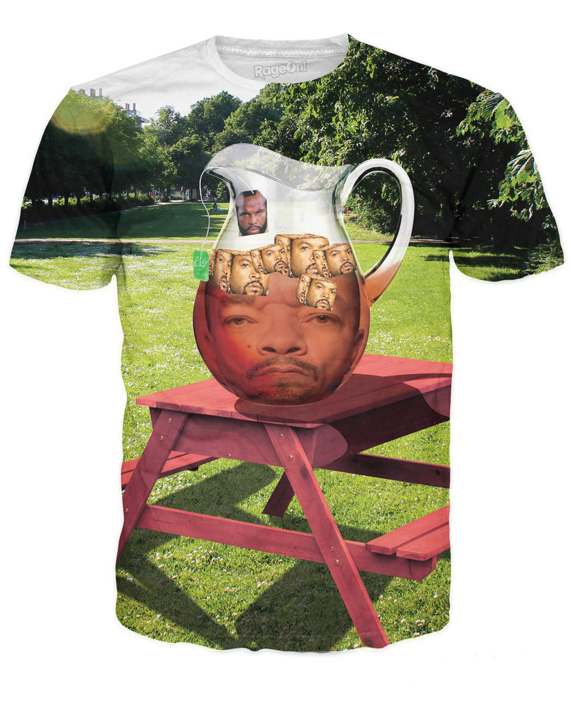 Mr. T Ice-T With Ice Cubes T-Shirt - Bestshopup