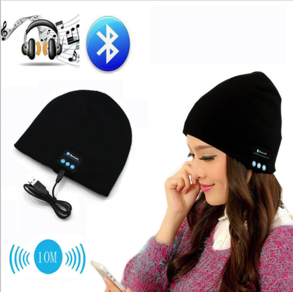 Unisex Wireless Sport Bluetooth Music Hat Earphones - Bestshopup