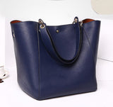 Genuine Leather Vintage Postman Handbag - Bestshopup
