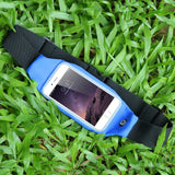 Sports Outdoor Gym Waist Phone Case For iPhone with Earphone Hole Belt - Bestshopup